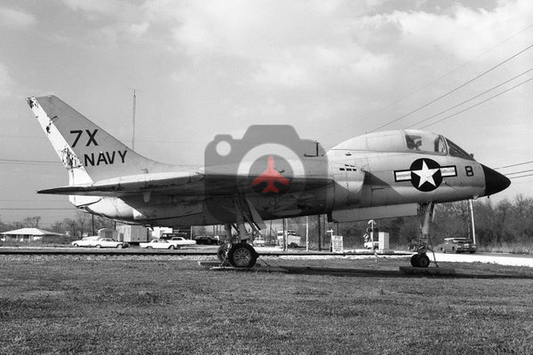 '7X-8' Vought F7U, USN, New Orleans NAS 1966