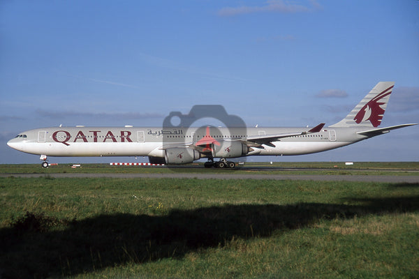 A7-AGA Airbus A340-642, Qatar Airways