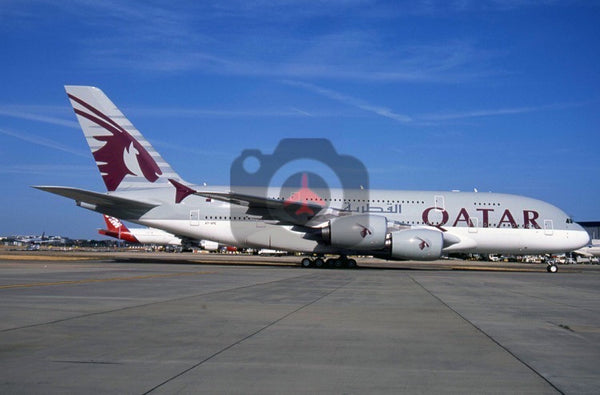 A7-APE Airbus A380-861, Qatar Airways