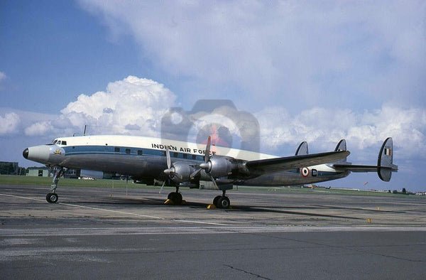 BG577(C) Lockheed L.1049G, Indian AF, Northolt 1967