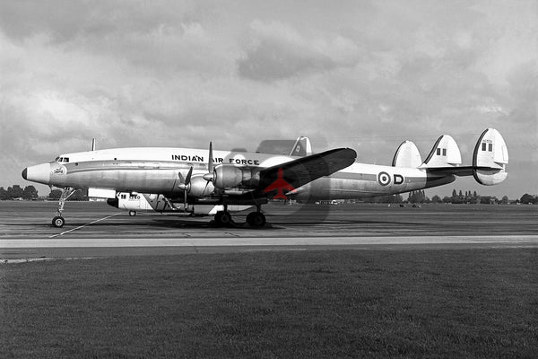 BG579, Lockheed L-1049G Super Constellation, Indian Air Force, Northolt
