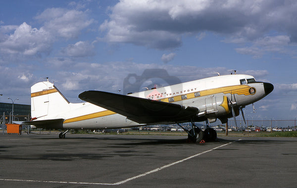 CF-DOT Douglas DC-3, Canadian Department of Transport