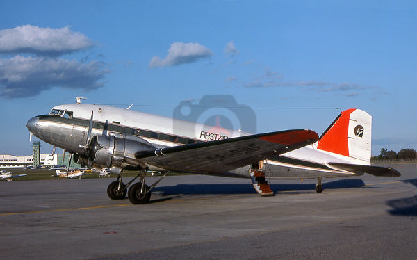 CF-QNF Douglas DC-3, First Air