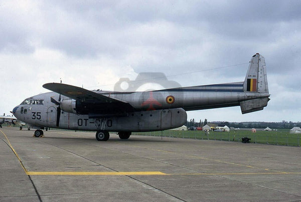 CP35(OT-CBO) Fairchild C-119G, Belgian AF, North Weald 1972