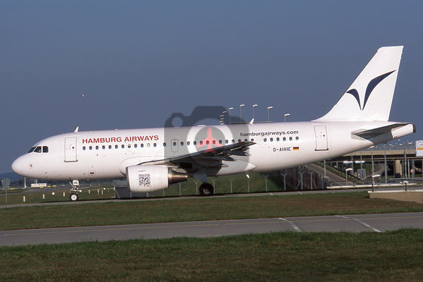 D-AHHE Airbus A319-112, Hamburg Airways