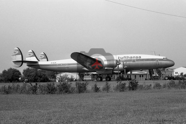 D-ALIN Lockheed L-1049G Super Constellation, Lufthansa, Hamburg 1969