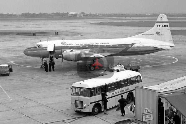 EC-AMU Convair CV440 Iberia, Heathrow