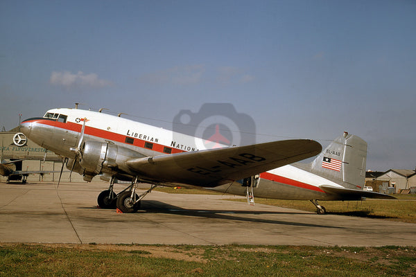 EL-AAB  Douglas DC-3, Liberia National Airways