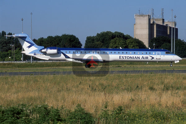 ES-ACD Canadair CRJ-900, Estonian Air