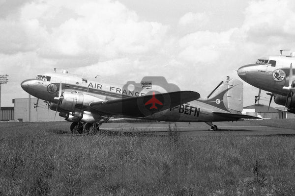 F-BEFN Douglas DC-3, Air France, Orly 1969