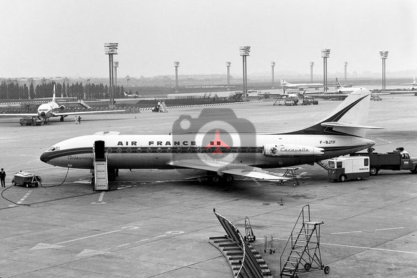 F-BJTF Sud Aviation SE210 Caravelle III, Air France, Orly 1966