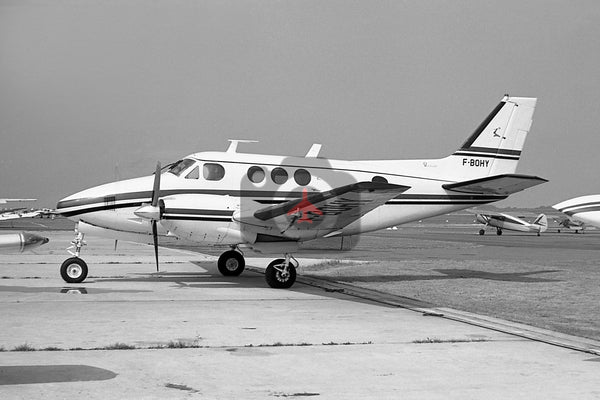 F-BOHY Beech 65 Queen Air, Toussus 1969