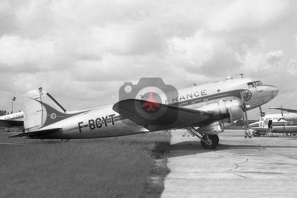 F-BCYT Douglas DC-3, Air France, Orly 1969