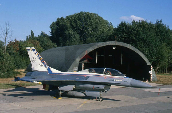 FB01 General Dynamics F-16B, Belgian AF(1Wg), Beauvechain 1989, special colours