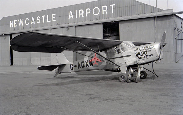 G-AGXN Auster J1 Autocrat, Airviews Ltd, Newcastle 1959