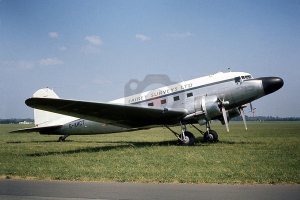 G-AHCT Douglas DC-3, Fairey Surveys