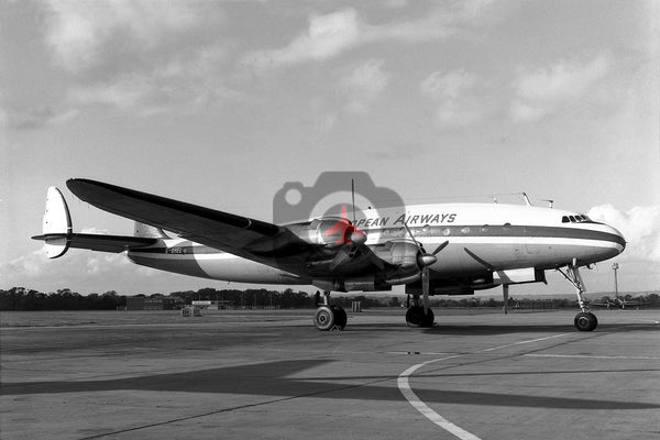 G-AHEL Lockheed L-049G Constellation, Trans European Airways