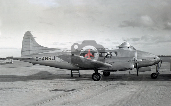 G-AHRJ De Havilland DH104 Dove, Channel Islands Air Services, Jersey