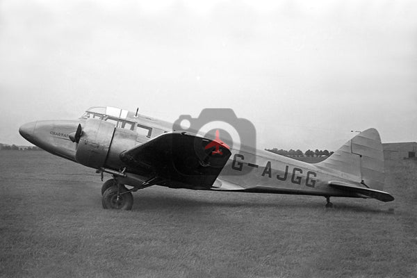 G-AJGG Airspeed AS65 Consul, Chartair, Newmarket 1952