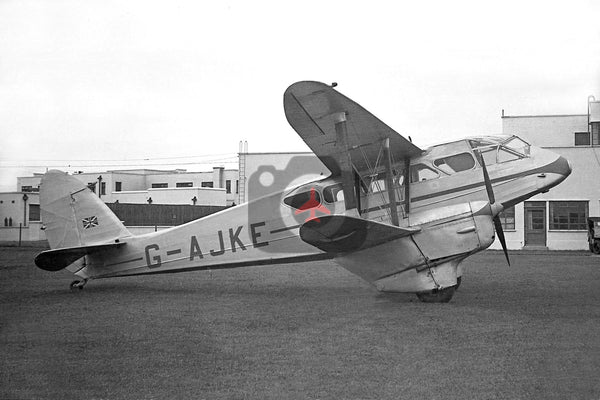 G-AJKE De Havilland DH89A Dragon Rapide c1951