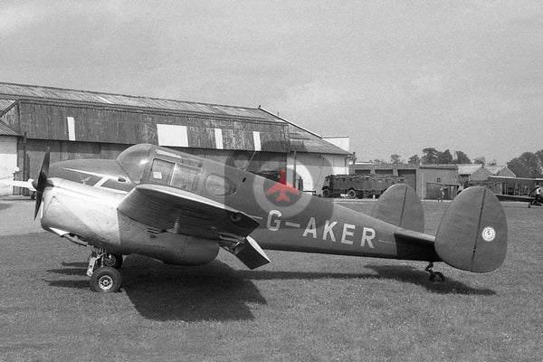 G-AKER Miles M65 Gemini, Cambridge 1950