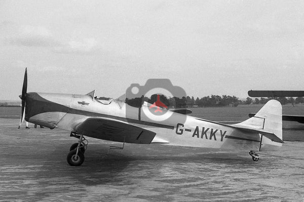 G-AKKY Miles M14A Hawk Trainer, Cambridge 1950