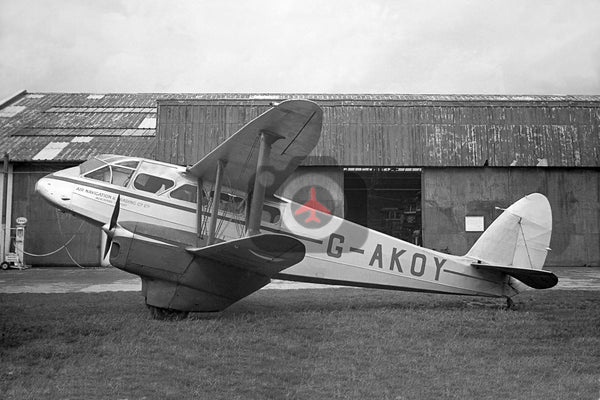 G-AKOY De Havilland DH89A Dragon Rapide, Air Navigation & Trading Company