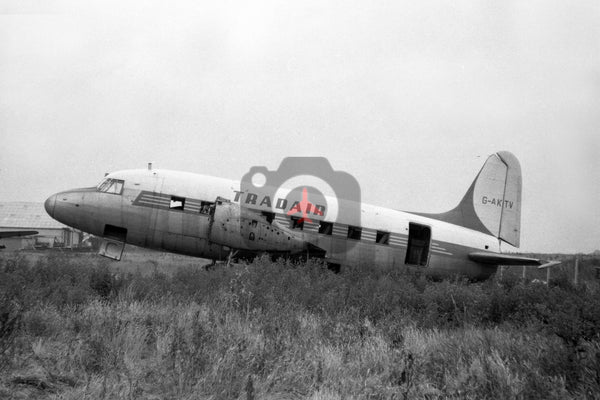 G-AKTV Vickers Viking, Tradair, Southend 1964