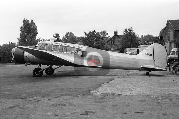 G-AMDA Avro 652 Anson 1, London School of Flying, Elstree 1962