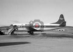 G-AMOG Vickers Viscount 701,  BOAC, 1974