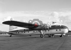 G-AMWE Bristol 170 Freighter Mk.32, Silver City Airways, Hurn, 1962