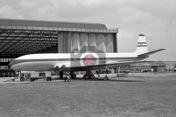 G-AMXK De Havilland DH106 Comet 2, Hatfield  1962