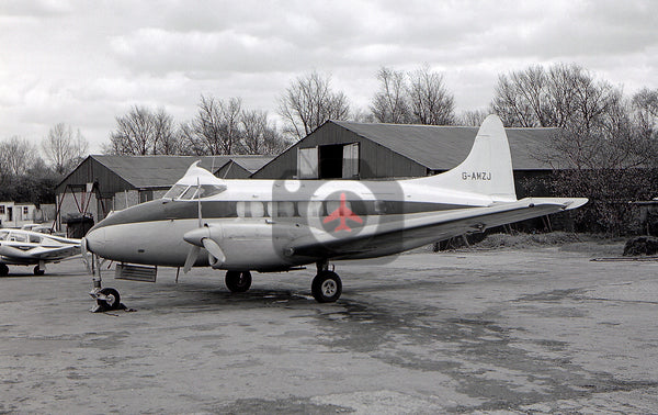 G-AMZJ De Havilland DH104 Dove,  Elstree, 1964