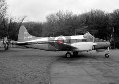 G-ANUT De Havilland DH104 Dove 6, CAFU, Stansted, 1965