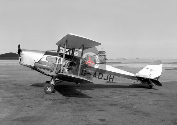 G-AOJH De Havilland DH83C Fox Moth, Blackpool, 1970