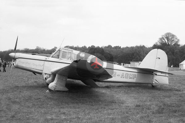 G-AOMF Percival P40 Prentice, Surrey and Kent Flying Club, Biggin Hill 1963