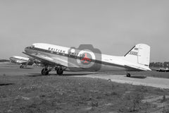 G-AOUD Douglas DC-3, British United  Airways, Jersey 1965