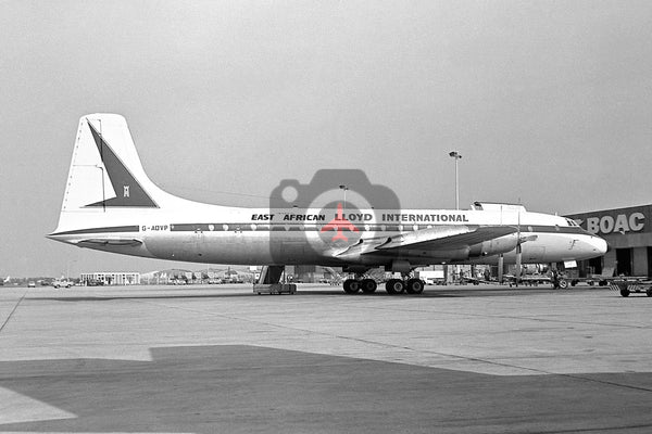 G-AOVP Bristol Britannia 312(F), Lloyd International East African
