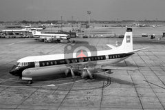 G-APET Vickers Vanguard 953, BEA, Heathrow