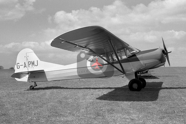 G-APMJ Auster J1U Workmaster, Sywell