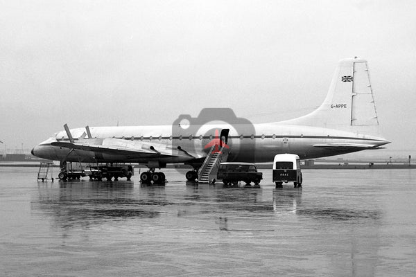 G-APPE Bristol Britannia 252 C.2, Ministry of Supply 1958