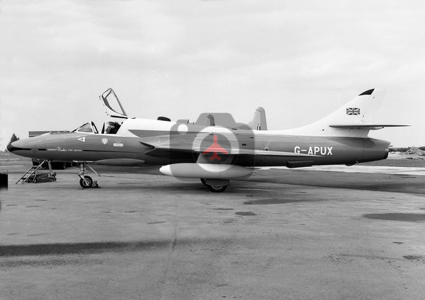 G-APUX Hunter T.66A, Little Rissington, 1962