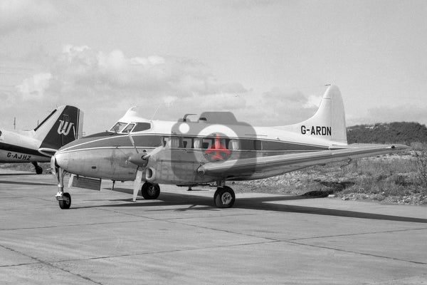 G-ARDN De Havilland DH104 Dove, Luton 1966