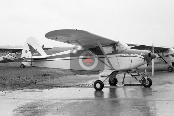 G-ARKS Piper Pa-22-108 Colt, Luton Flying Club, Luton 1962