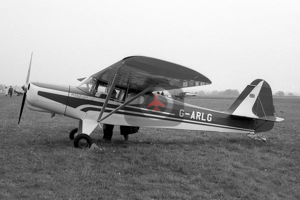 G-ARLG Auster D4, Beagle Auster Flying Club, Baginton 1961