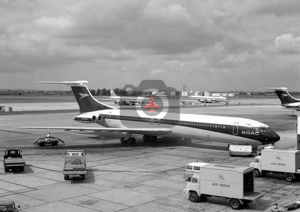 G-ASGB Vickers Super VC10, BOAC, Heathrow, 1967