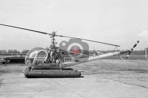 G-ASIG Hiller UH-12E, Management Aviation, Elstree 1965