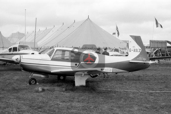 G-ASLZ Mooney M20C, Biggin Hill 1964