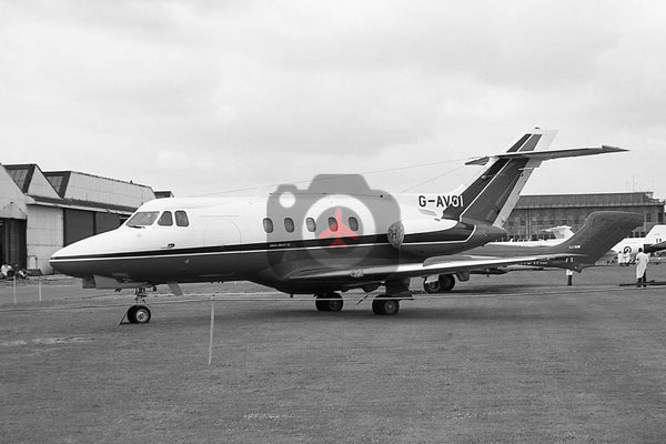G-AVOI Hawker Siddeley HS125-3B, Hatfield