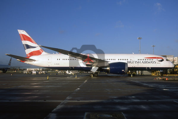 G-ZBJB Boeing 787-8, British Airways